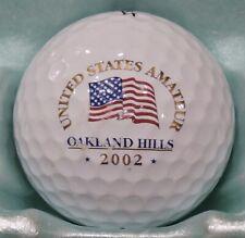 New listing UNITED STATES AMATEUR  -  OAKLAND HILLS  -  2002  -  GOLF BALL