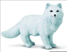 New listing Fox Figurine Artic White Woodland Animal Safari Ltd Toy New Adult Animal New