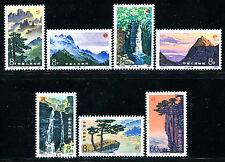 CHINA PRC 1981 T67, Scott 1696-02 Scenes of Lushan Mountains 庐山 MNH