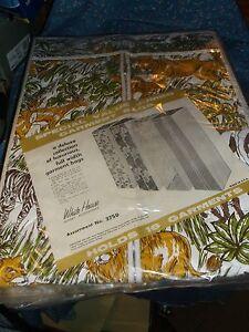 Vintage NOS White House Garment Bag  Holds 16 Garments  Wild Animal Motif