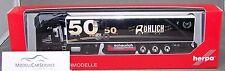 """Herpa 305389: MAN TGX XLX Semi-remorque frigorifique """"50 Années Expédition"""