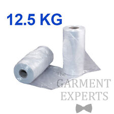Continuous Polythene Roll *12.5KG* 80 gauge - Clothes Garment Protector Packing
