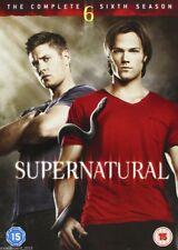 Supernatural Series 6 Complete 6th Sixth Season 2011 New Sealed UK Region 2 DVD