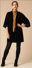 "EB&IVE Black Velvet ""Provence"" 3/4 Sleeve Kimono/Jacket Sizes OSFA - NWT!"