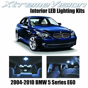 XtremeVision Interior LED for BMW 5 Series E60 2004-2010 (17 PCS) Cool White