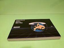 VINTAGE DW030301 DAF INTERNATIONAL TRUCK  SERVICE BOOK 1991/1992 - GOOD COND