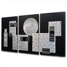"""Modern Abstract Paintings Metal Wall Art Sculpture Original  Jon Allen """"Comp1"""""""