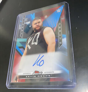 Wwe Finest Red Kevin Owen /5 Debuts 3/5 Rare