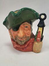 """Vintage Royal Doulton D6619 Smuggler Toby Character 4"""" Mug"""