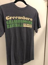 Greensboro Grasshoppers MiLB BASEBALL MV Sports Brand Pirates A Ball Shirt Small