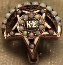 1939 Kappa Sigma Fraternity Pin - Opals - Alpha Eta Chapter - Gold