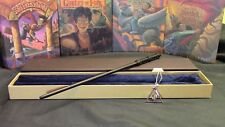 Harry Potter - Severus Snape Wand w/ FREE Deathly Hallow Necklace