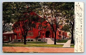 Vintage Postcard Presbyterian Church Lawrence Kansas 1908 a2