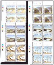 ZIMBABWE 2006 BRIDGES OF ZIMBABWE SG1196 TO 1201- CONTROL BLOCKS B PANE