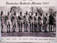 Postkarte + FC Schalke 04 - Deutscher Fußball Meister 1937 + Kult Motiv PK201817