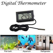 Nuevo LCD Termómetro Pared Digital Centígrado Temperatura Coche Interior Hogar