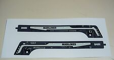 MARX MARLINES 8401 LOCO ENGINE SIDEBOARDS REPRO DECALS EXC.QUALITY LOOK @ PHOTOS