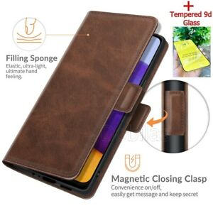 Flip Leather Phone Case for Samsung A21S A12 A22 A32 S20FE Magnetic Wallet Cover
