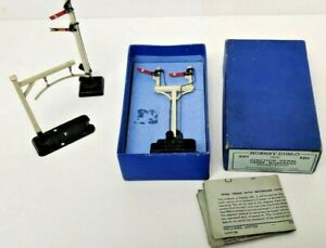 HORNBY DUBLO ED3 ELECTRIC JUNCTION SIGNAL UPPER QUADRANT BOXED & 2 OTHER PARTS