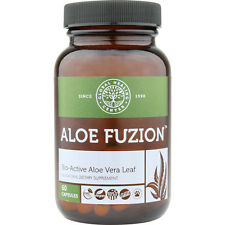 Aloe Fuzion - Aloe Vera Pills / 60 Capsules for Digestion, Joints & Vibrant Skin
