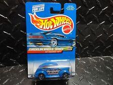 2000 Hot Wheels #27 Blue Fat Fendered '40 w/Razor Wheels  HTF