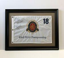 Golf Pin Flag Frame Floated on White Matt