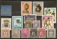 lot de 16 timbres du CAP VERT CABO VERDE