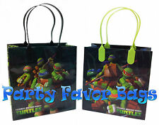 24 pcs Teenage Mutant Ninja Turtles Party Favor Bags Candy Treat Birthday Gift