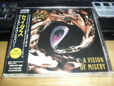 SADUS -A VISION OF MISERY- VERY HARD TO FIND RARE ORIGINAL CD FIRST JAPANESE '92