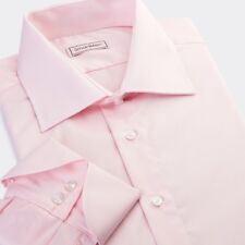 James Bond 007 special turn-back cuff shirts light Pink color | Classic fit