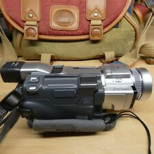 Sony DCR-TRV60E Digital Camcorder with Charging and Video leads Bag and Manual