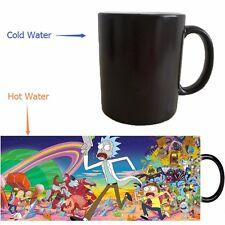 Rick and Morty Coffee Mug Heat-Sensitive Color Changing Mug Tea Cup Gift Collect