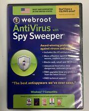 Webroot AntiVirus with Spy Sweeper Vintage Software ElectronicsRecycledCom