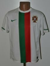 PORTUGAL NATIONAL TEAM 2010/2012 AWAY FOOTBALL SHIRT JERSEY NIKE SIZE M ADULT