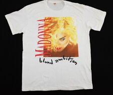 Vtg 1990 Madonna Blonde Ambition Concert T-Shirt Tour XXL like a prayer boy toy