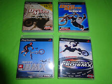 Empty Replacement Cases Dave Mirra Mat Hoffman Freestyle BMX Sony PlayStation 1