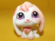 Littlest Pet Shop LPS - White Bunny Rabbit Kaninchen Hase Weiß #1304