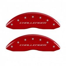 2011-2016 CHALLENGER R/T RT MGP Disc Brake Caliper Covers 12162SCBRRD