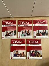 Manhattan Prep GMAT 6th Edition GUIDE 1 TO 5 Study Books Paperback