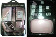 NEW Pink Accessory Kit for Nintendo DS LITE Car Charger Earphones stylus Case