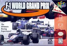 F-1 World Grand Prix N64 Great Condition Fast Shipping