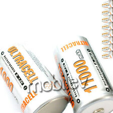 10 x D Ni-MH 11000mAh Rechargeable Battery Ultra cell 1