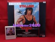 【電影LD】Rambo III 第一滴血第三集 (Stallone 史泰龍主演) 美版碟‧連字匣
