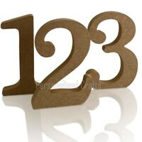 MDF Wooden Coming Of Age Birthday Celebration Joint Numbers Signs Crafts