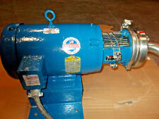 """Tri-Clover Sanitary Stainless Steel Pump 2"""" x 1 1/2"""" C216Md21T-S, 10 Hp"""