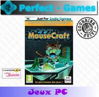 MOUSECRAFT le mix parfait TETRIS et LEMMINGS DVD ROM PC jeu neuf new game