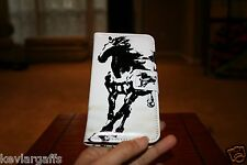 Wallet Cellphone Case Elegant Black and White Horse Art For iPhone 6 6G
