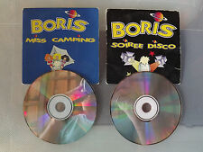 LOT DE 2 CD DE 3 TITRES SINGLES BORIS