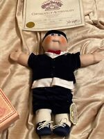 "Vintage 1984 CABBAGE PATCH KIDS Porcelain 16"" Doll Limited Edition Signed"