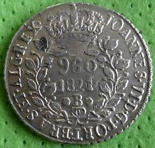 BRAZIL 960 Reis 1821 B